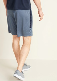 Old Navy Go-Dry Side-Stripe Shorts for Men - 9-inch inseam