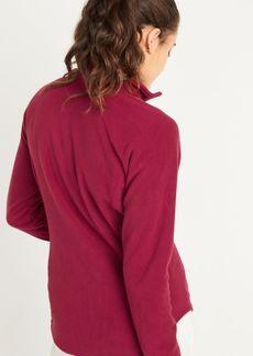 Old Navy Go-Warm Micro Performance Fleece 1/4-Zip Sweatshirt for Women
