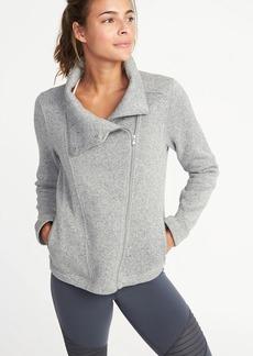 Old Navy Go-Warm Moto Jacket for Women