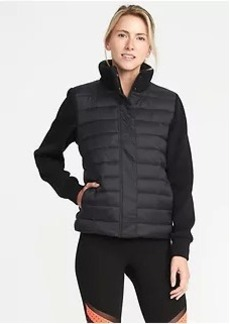 Go-Warm Quilted Hybrid Jacket for Women