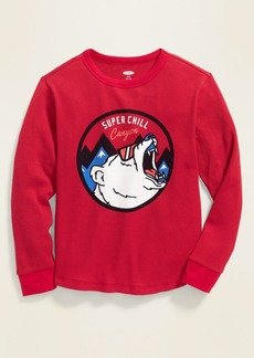 Old Navy Graphic Crew-Neck Thermal Tee for Boys