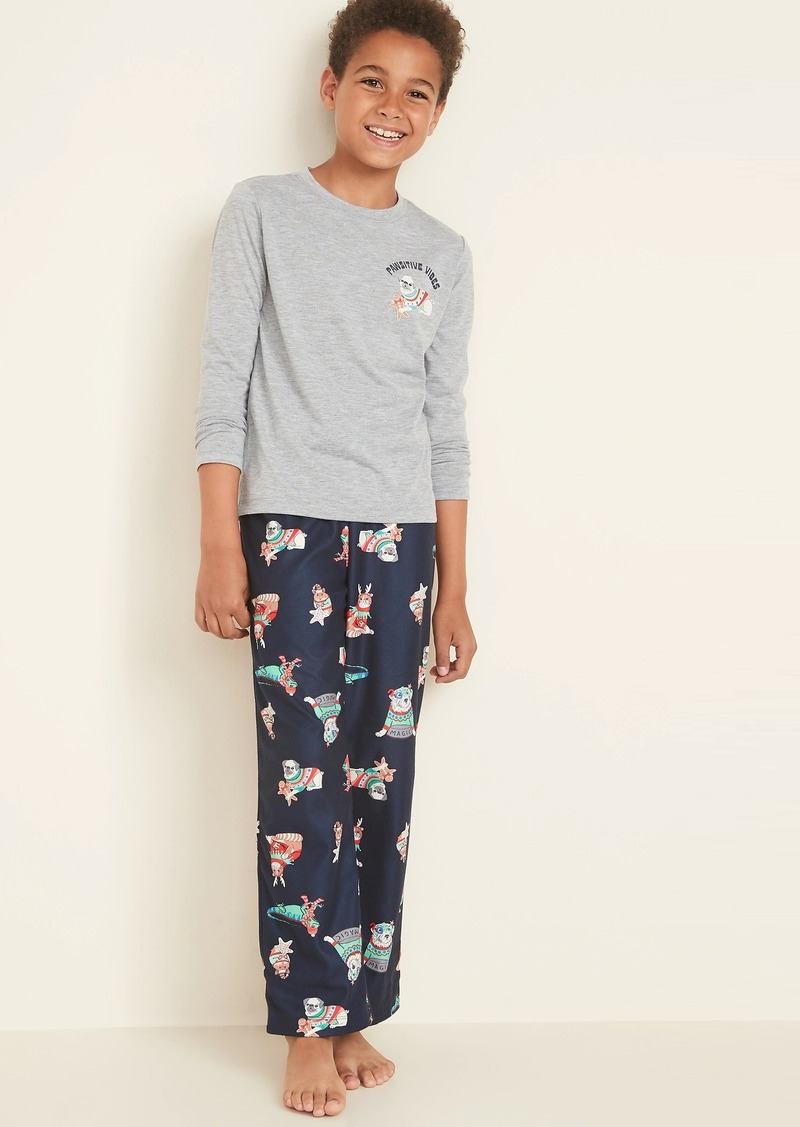 Old Navy Graphic Pajama Set for Boys