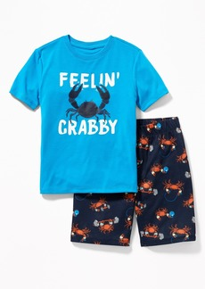 Old Navy Graphic Sleep Set for Boys
