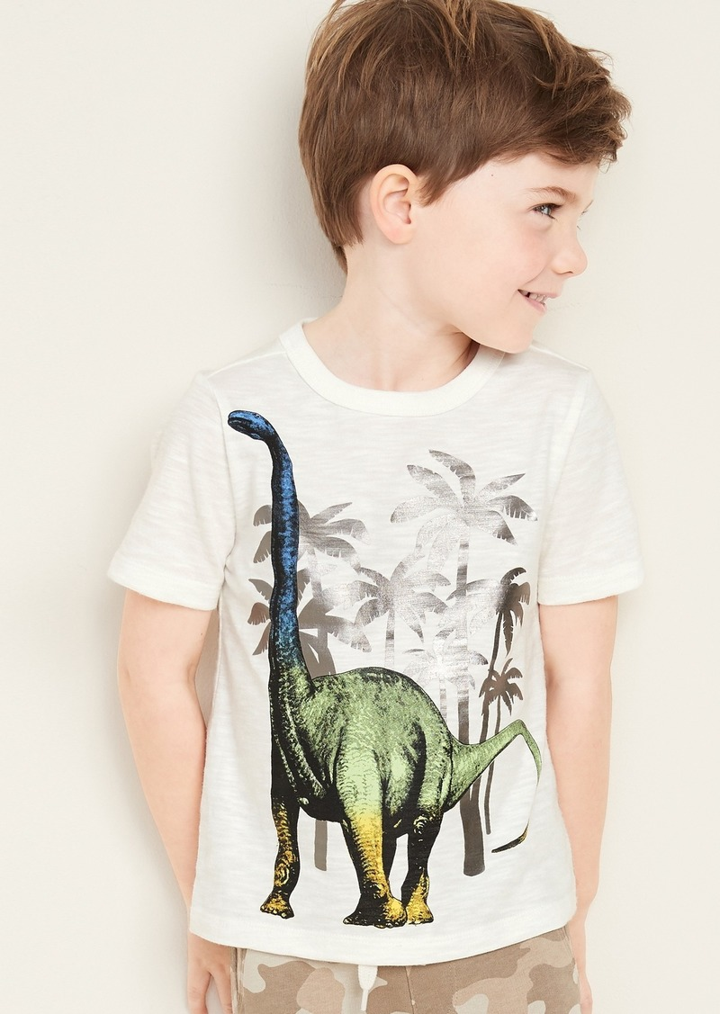 Old Navy Graphic Slub-Knit Short-Sleeve Tee for Toddler Boys