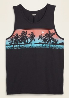 Old Navy Graphic Soft-Washed Tank Top for Men