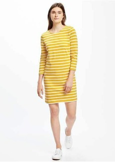 Heavy-Knit Shift Dress for Women