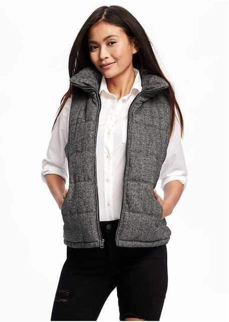 Old Navy Herringbone Frost Free Vest for Women