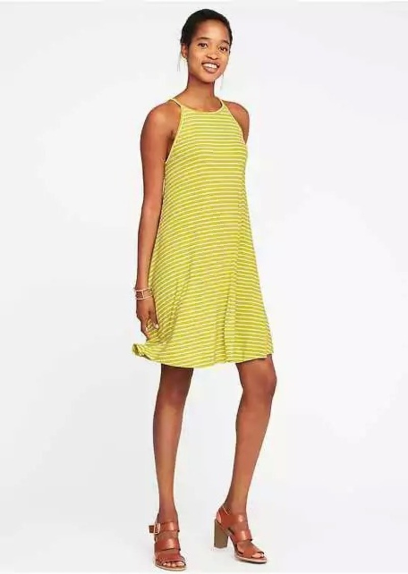 732dc5947da On Sale today! Old Navy High-Neck Swing Dress for Women