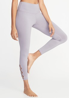 f90798153527b Old Navy High-Rise 7/8-Length Compression Leggings for Women ...