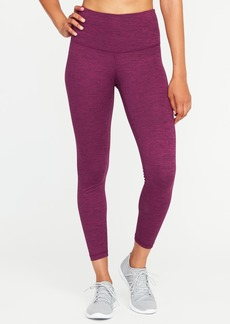 Old Navy High-Rise 7/8-Length Melange Leggings for Women