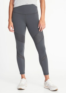 Old Navy High-Rise 7/8-Length Moto Compression Street Leggings for Women