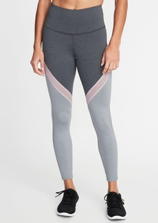 Old Navy High-Rise Color-Block 7/8-Length Leggings for Women