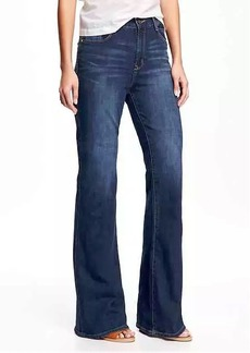 High-Rise Eco-Friendly Vintage Flare Jeans for Women