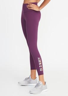 d91af71ea2 Old Navy High-Rise Elevate Compression Logo 7/8-Length Leggings for Women
