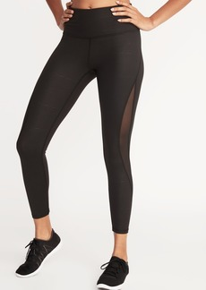 3c3df51d3fed Old Navy High-Rise Shimmer Elevate Compression Full-Length Leggings ...