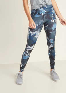 Old Navy High-Waisted Floral Run Leggings For Women