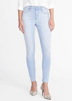 High-Rise Light-Wash Rockstar Super Skinny Jeans for Women