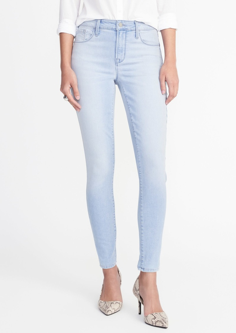 04761561b96 Old Navy High-Rise Light-Wash Rockstar Super Skinny Jeans for Women ...