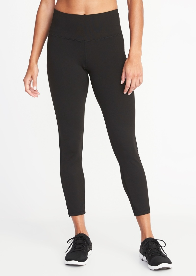 7a25b8372acc1c Old Navy High-Rise Mesh-Trim 7/8-Length Compression Leggings for ...