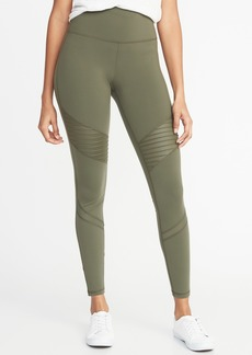 Old Navy High-Rise Moto Compression 7/8-Length Leggings for Women