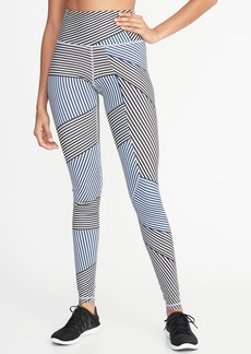 Old Navy High-Rise Printed Compression Leggings for Women