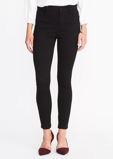High-Rise Rockstar 24/7 Super Skinny Black Jeans for Women