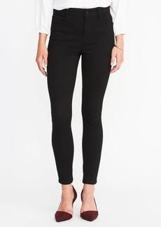 High-Rise Rockstar 24/7 Super Skinny Black Jeans for Women