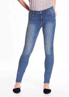 High-Rise Rockstar Distressed Skinny Jeans for Women