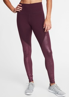 Old Navy High-Rise Shimmer Long Compression Leggings for Women