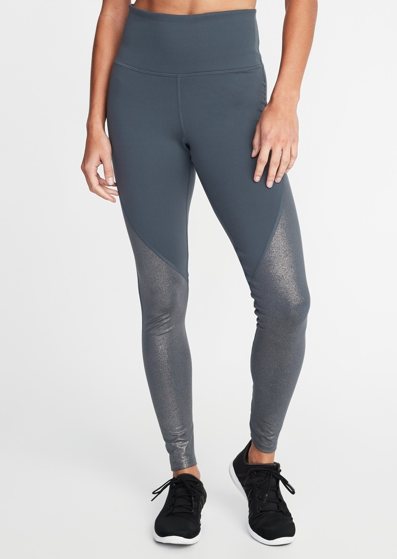 11e06631dab8 Old Navy High-Rise Shimmer Elevate Compression Full-Length Leggings for  Women