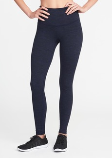 Old Navy High-Rise Stripe-Melange Leggings for Women