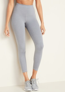 Old Navy High-Waisted Elevate 7/8-Length Compression Leggings for Women