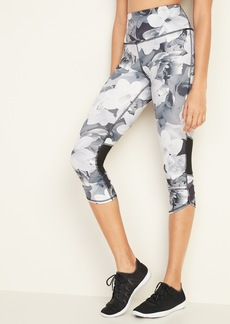 Old Navy High-Waisted Elevate Compression Run Crops For Women