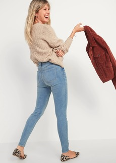 Old Navy High-Waisted Rockstar Built-In Warm Super Skinny Jeans for Women