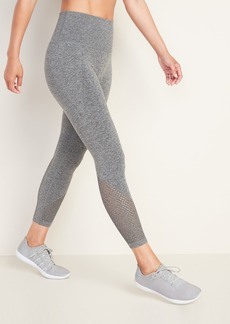 Old Navy High-Waisted Seamless 7/8-Length Performance Leggings for Women