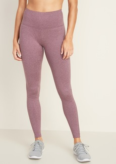 Old Navy High-Waisted Soft-Brushed Elevate Compression Leggings For Women