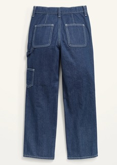 Old Navy High-Waisted Workwear Ankle Jeans for Girls