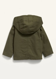 Old Navy Hooded Canvas Utility Jacket for Baby