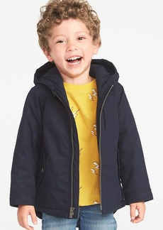 Old Navy Hooded Canvas Utility Jacket for Toddler Boys