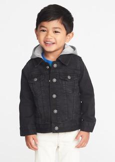 Old Navy Hooded Denim Jacket for Toddler Boys