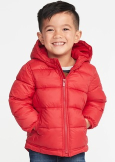 Old Navy Hooded Frost-Free Puffer Jacket for Toddler Boys