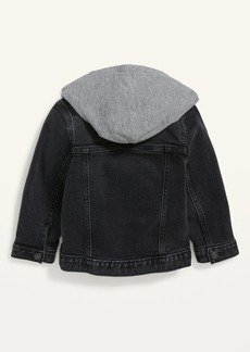 Old Navy Hooded Jean Trucker Jacket for Toddler Boys