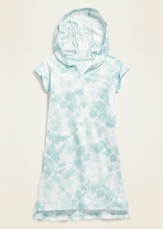 Old Navy Hooded Jersey Swim Cover-Up for Girls