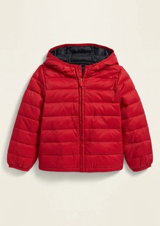 Old Navy Unisex Hooded Lightweight Narrow-Channel Puffer Jacket for Toddler
