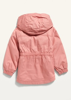 Old Navy Hooded Scout Jacket for Toddler Girls
