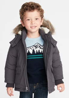 Old Navy Hooded Snow Jacket for Toddler Boys