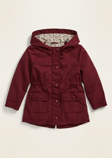 Old Navy Hooded Utility Jacket for Toddler Girls
