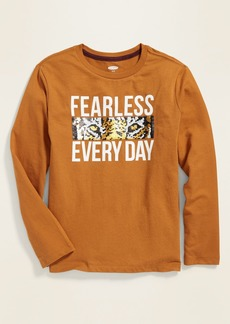 Old Navy Interactive Graphic Long-Sleeve Tee for Boys