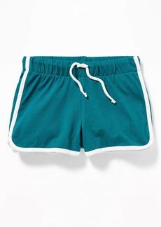 Old Navy Jersey Dolphin-Hem Cheer Shorts for Girls