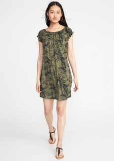 Old Navy Jersey Flutter-Sleeve Swing Dress for Women